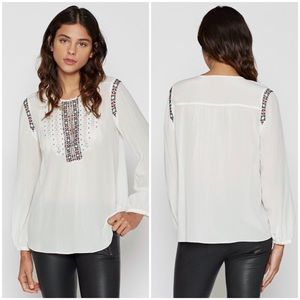 Joie Clema Silk Blouse